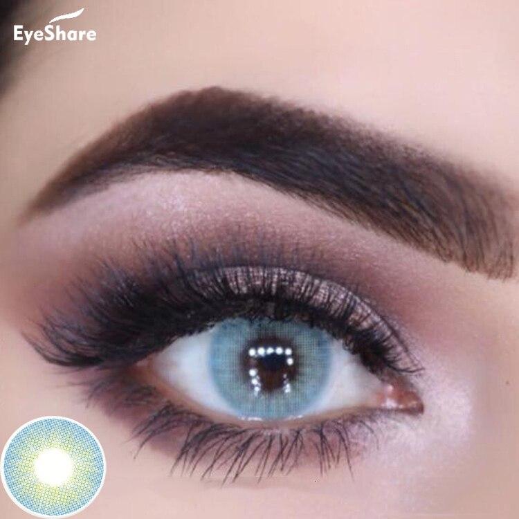 EYESHARE, 1 пара, Aurora, Европейский цвет, ed, контактные линзы, годовое использование, косметические контактные линзы, цвет глаз, бесплатная доставка