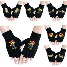 Pokemon Anime Gloves Pikachu  Cosplay Costumes Mittens Anime apparel Props Men and women keep warm a