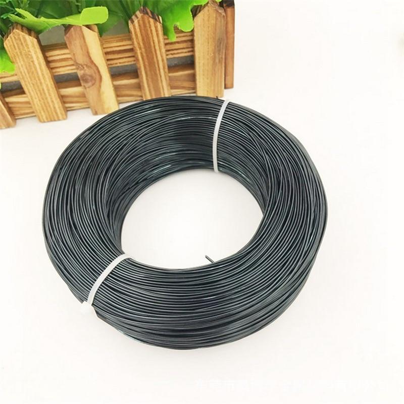 1mm-8mm 500g/rollo de alambre de aluminio para bonsái Material de modelado alambre de aluminio para jardinería olla con forma de bonsái alambre de aluminio