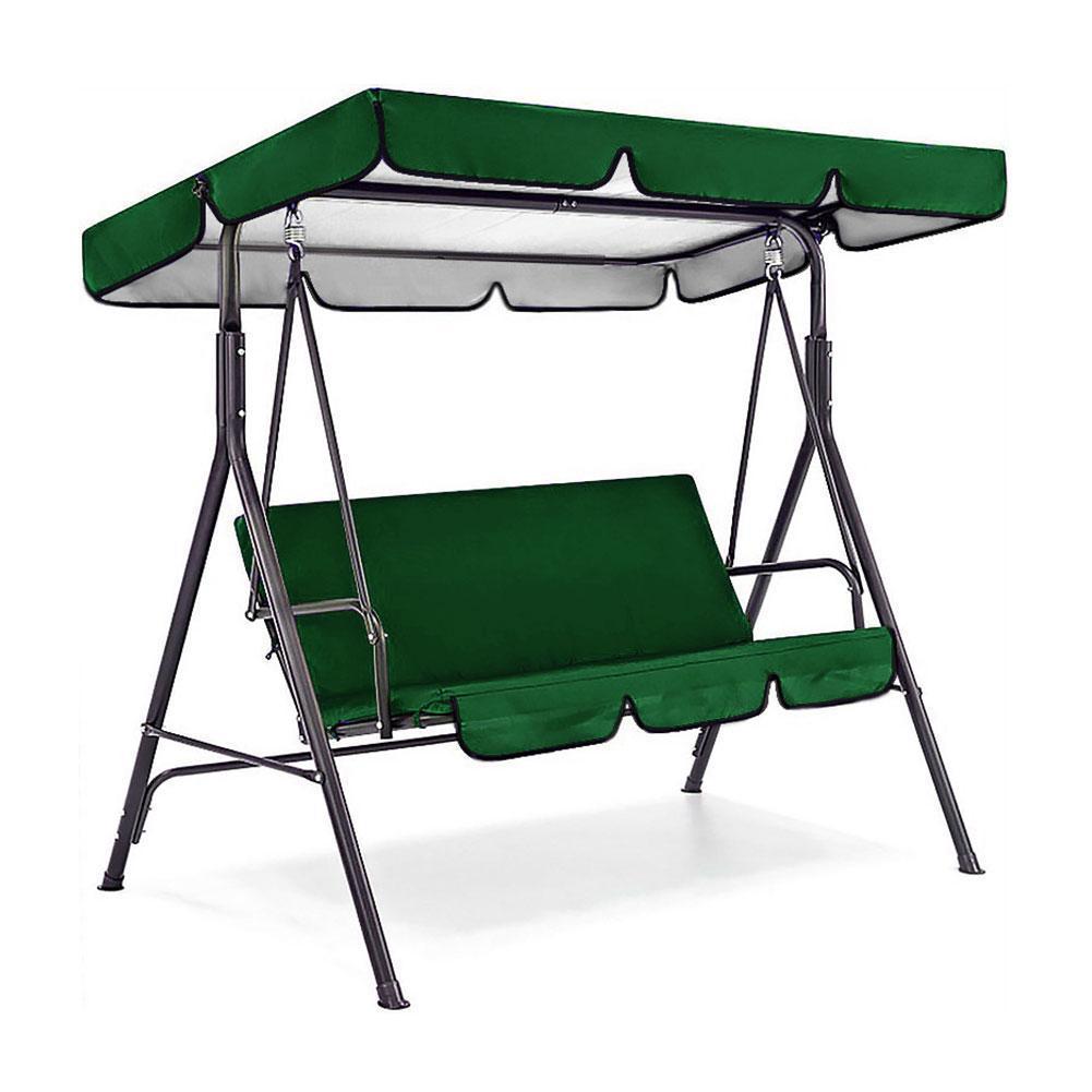 Комплект чехлов для сидений, комплект качели на 3 сиденья, для патио, гамак, качели, водонепроницаемые, N2L5