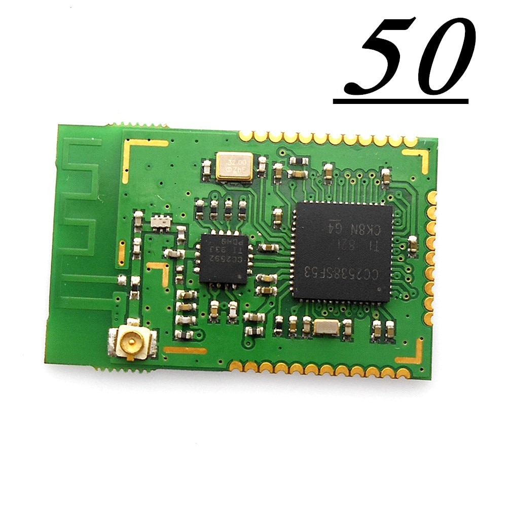 50PCS CC2538 CC2592 PA Zigbee Wireless Modul