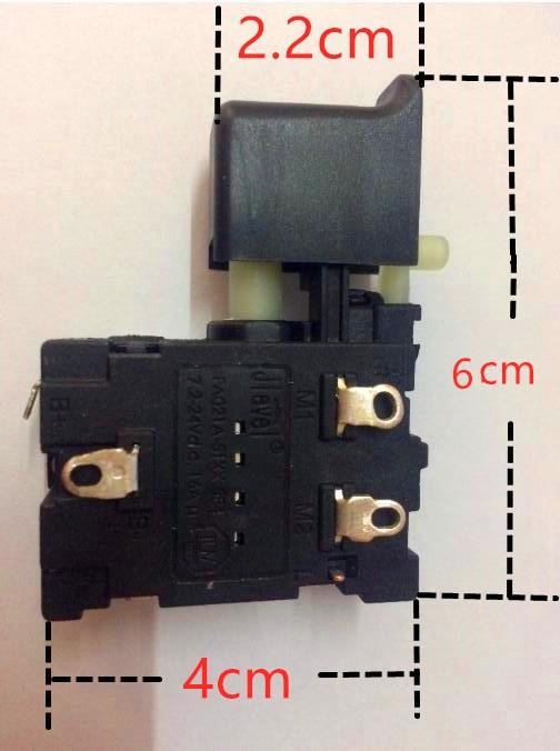Jlevel FA021A-51XX FA021A-5103 7,2-24V FA021A 16A DC Jlevel interruptor taladro eléctrico