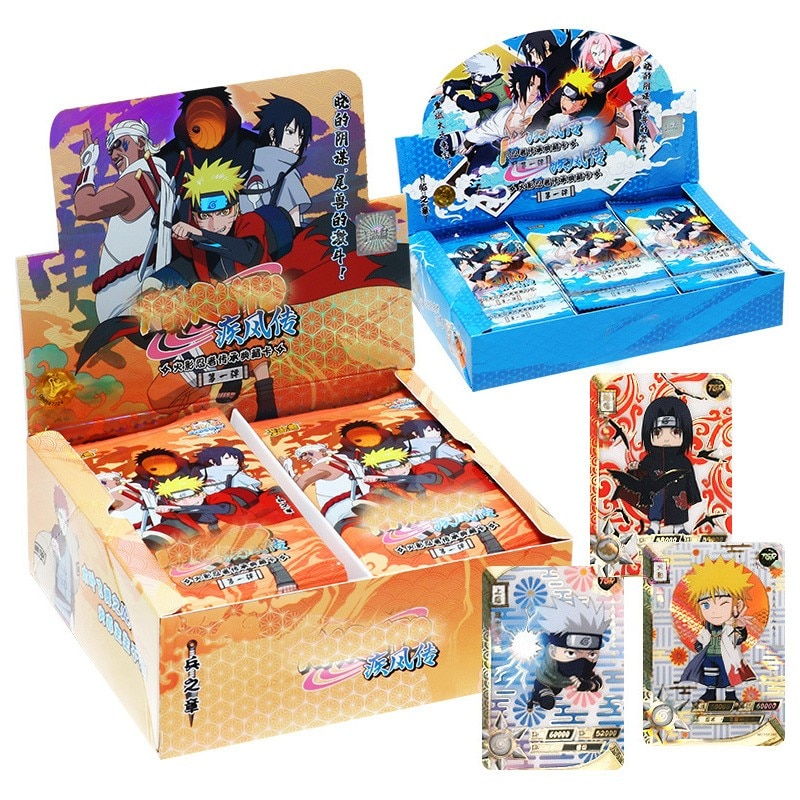 180-50pcs Japanese Shippuden Hinata Sasuke Itachi Kakashi Gaara Toys Hobbies Hobby Collectibles Game Collection Anime Cards 2021 new japanese uchiha sasuke uchiha american version hobby collectibles memorial game anime collection cards