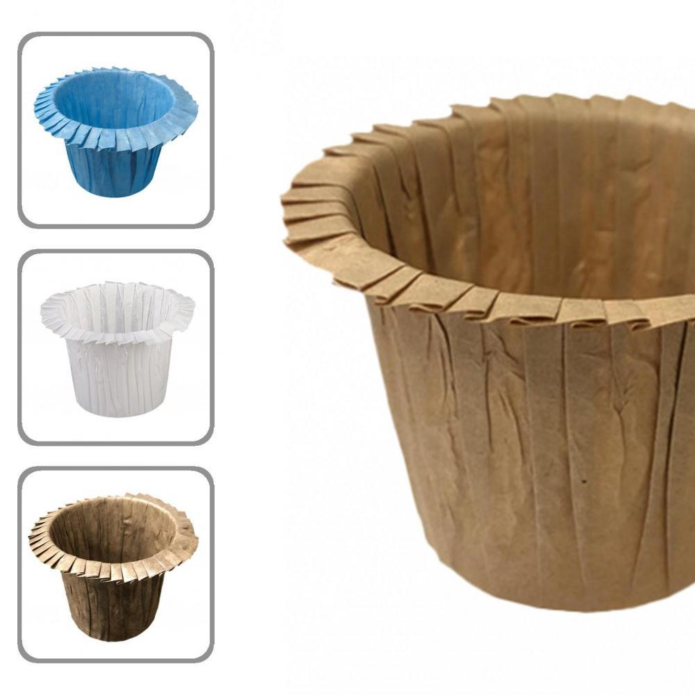 Бумажные не выцветающие формочки для выпечки маффинов для домашнего использования