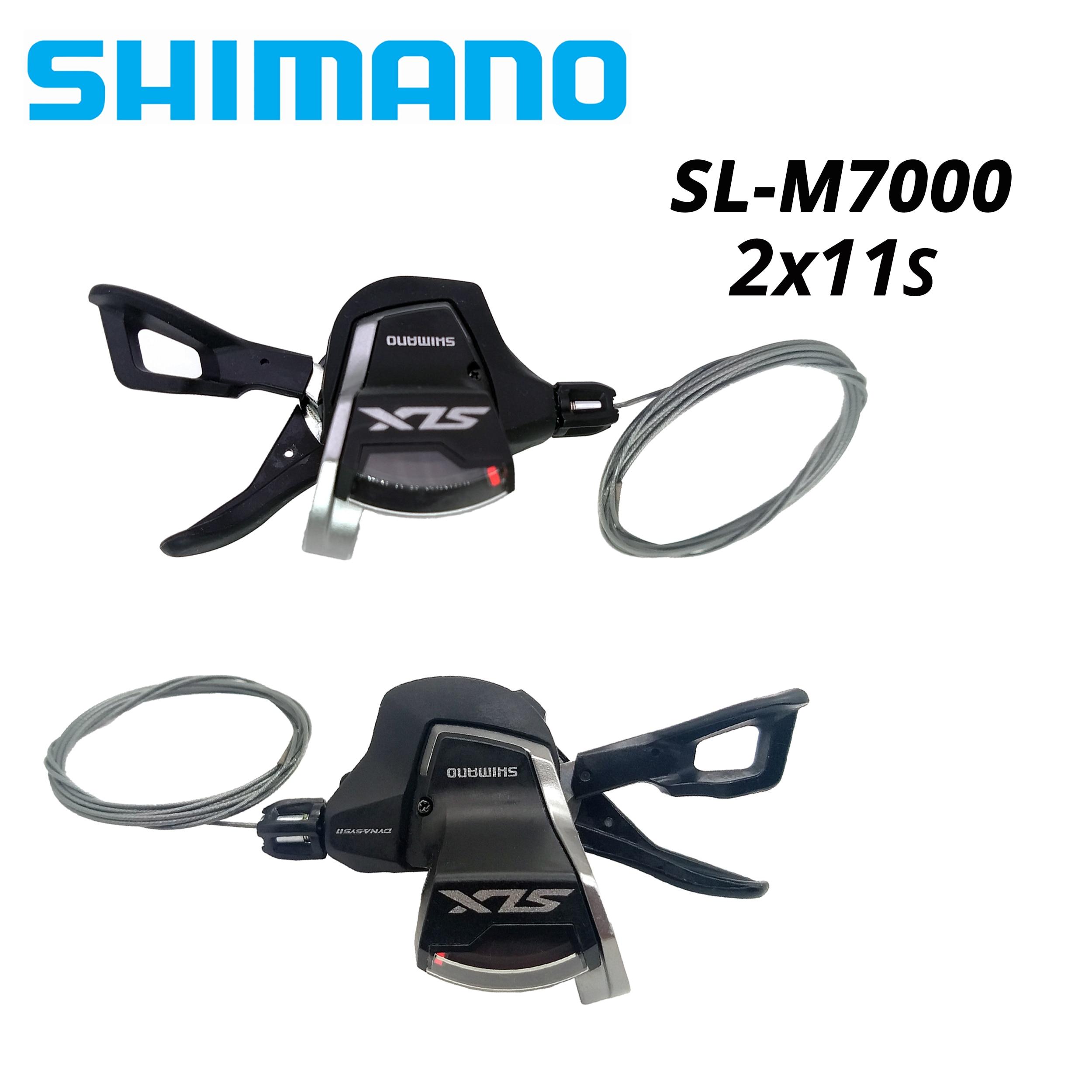 Shimano-palanca de cambios para bicicleta Deore seis SL M7000... SL-M7000 2x11 palanca...