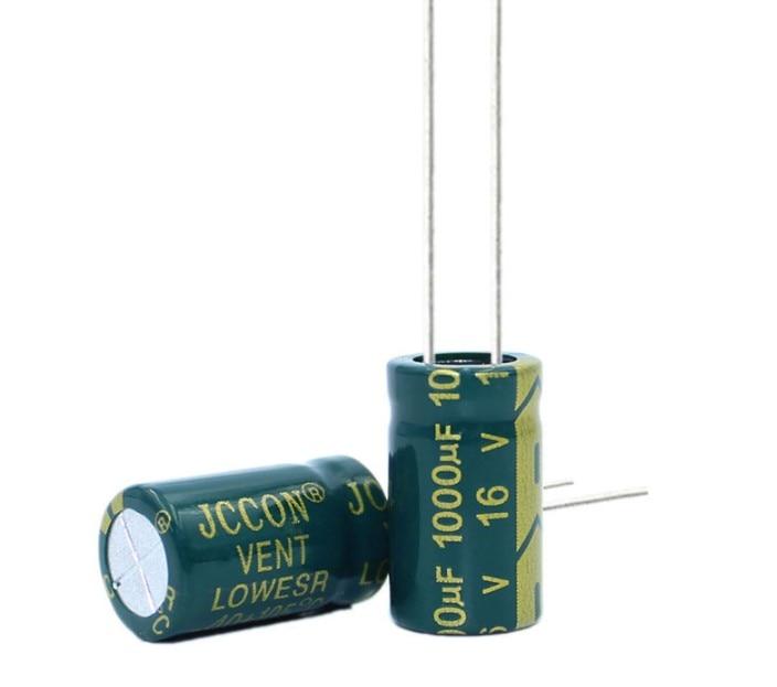 10 шт. высококачественный электролитический конденсатор 16 В 1000 мкФ 8*16 мм мкФ 16 в 10*13