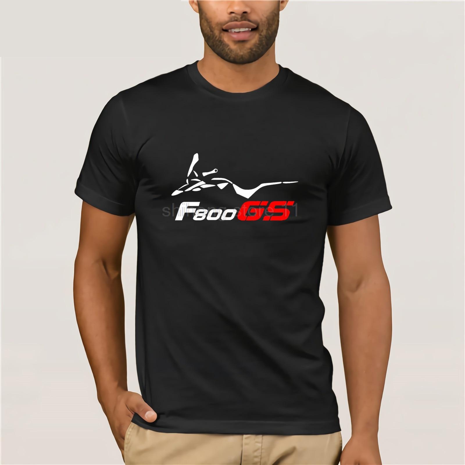 F 800 Gs Motard en Flex-motero 2020 moda para hombres, ropa de calle divertida, marca de diseño de ropa, camiseta en línea