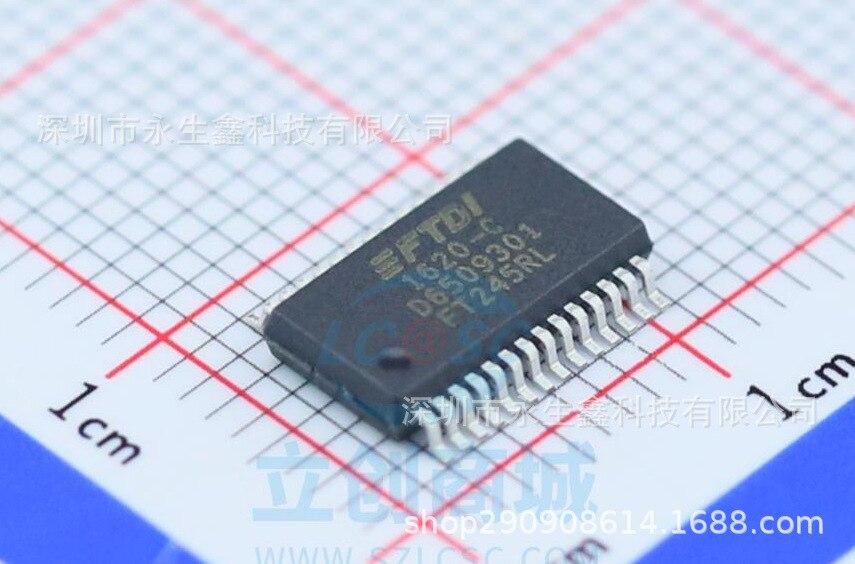 5/pces novo & original ft245 ft245rl ssop28 chip de interface usb