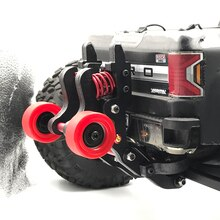 Nylon Double Wheel Wheeliebar for 1/10 RC Monster Truck ARRMA BIG ROCK NERO FAZON