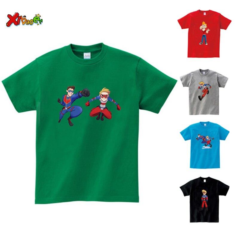Camiseta de Henry Danger para niños, camisa divertida de algodón de manga...