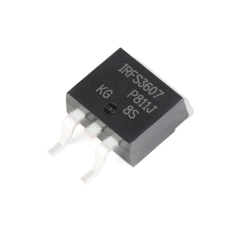 10 قطعة/الوحدة جديد irfs3607trlpbf to-263-3 n-قناة 75 فولت/80A SMD MOSFET