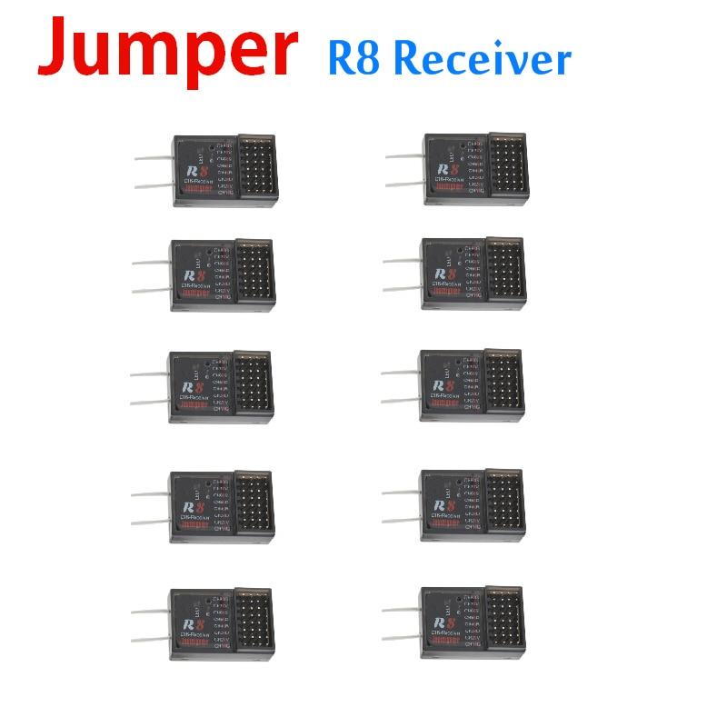 Remoto para Pix Jumper Receptor 16ch Sbus Compatível Frsky D16 d8 T16 T12 Modo Rádio Controle Px4 Vôo Con 10 Pcs r8
