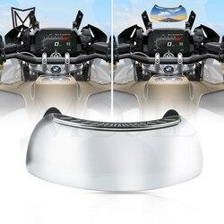 Motocicleta 180 graus de segurança espelho retrovisor dar visão traseira completa para ducati monster s2r 800 hypermotard 821/hyperstrada 939 sp