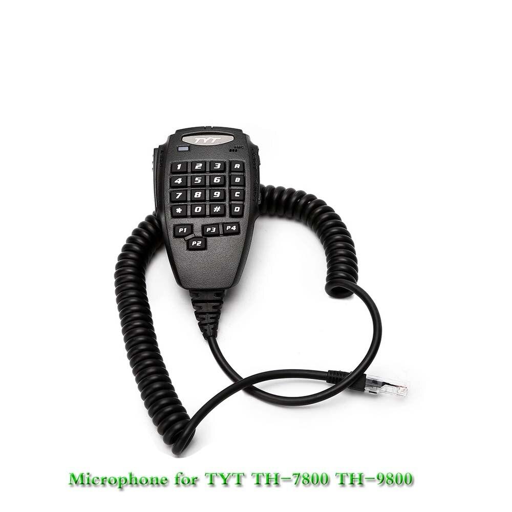 TYT PTT Lautsprecher Mikrofon für TYT TH-9800 Plus Quad Band 50W Auto Mobile Radio Walkie Talkie Station