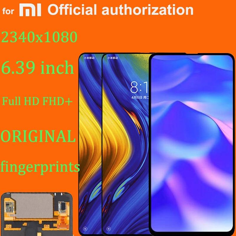 جديد وأصلي شاشة عرض سوبر أموليد LCD لـ شاومي ميكس 3 تعمل باللمس محول الأرقام الجمعية ل Mi Mix3 MIX 3 LCD ل Mix 3 5G LCD
