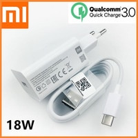 Оригинальное быстрое зарядное устройство Xiaomi Mi 9 SE QC 3,0, адаптер питания для быстрой зарядки, кабель USB Type-C для mi8 9 se 9t a2 a3 redmi note 7 8 pro