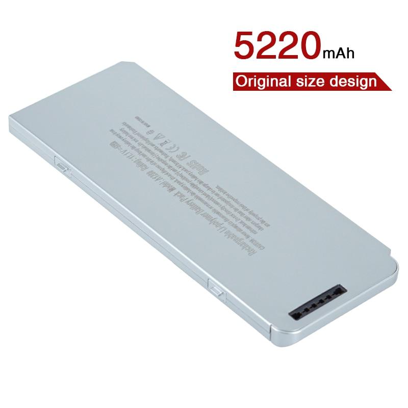 """Batería Original para ordenador portátil de alta capacidad, 6 celdas A1280 para Apple MacBook 13 """"A1278 (versión 2008) MB466LL/A MB466 MB771LLA MB771"""