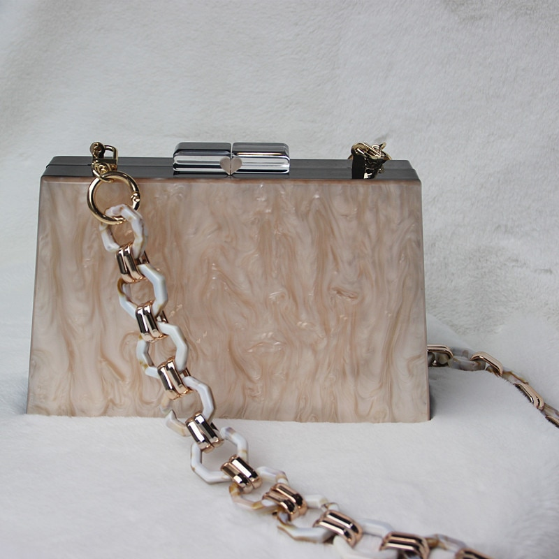 Luxy Moon إمرأة يدّ حقائب سهرى أكريليكيّ حقائب كتف عرس محفظة وحقيبة يد فاخر تصميم السيدات حقيبة يد ZD1517