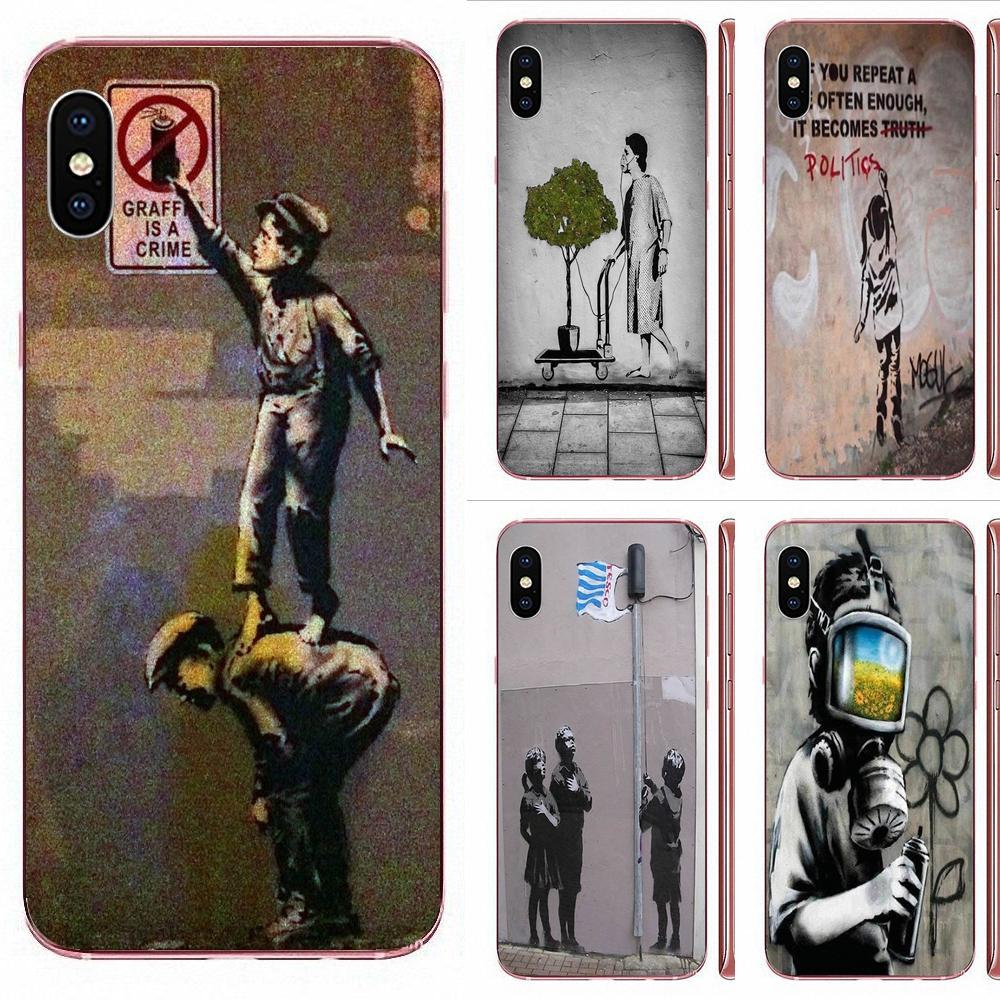 Banksy Balloon Girl Street Art For Huawei Honor 5C 5X 6A 6X 7 7A 7X 8 8A 8S 8X 9 10 30 Lite Pro Y6 II Y7 Y9 Prime 2019