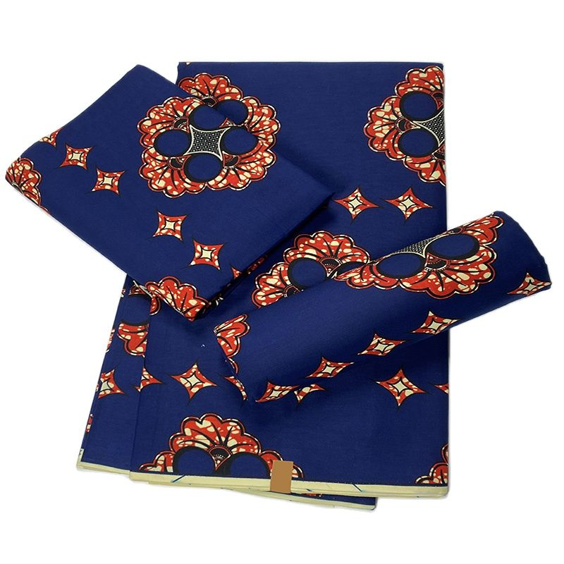 African Ankara real wax Cloth African prints fabric sewing material pure cotton batik for wedding dress craft high quality tissu