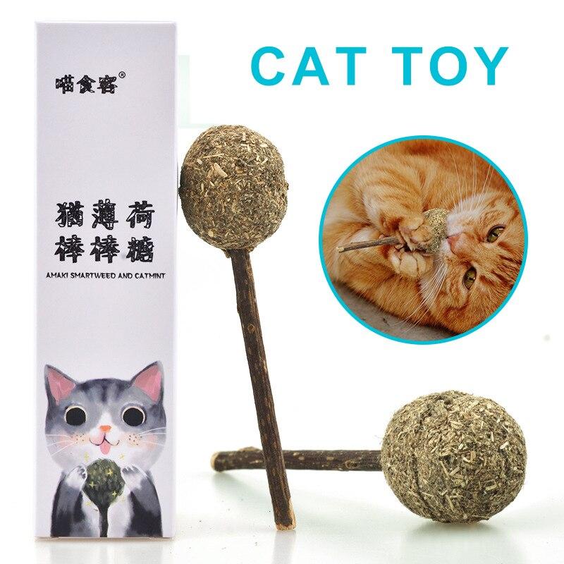 Игрушки для кошек в форме леденца, кошачья мята, трава для крупного рогатого скота, чистые зубы, серебряная лоза, моляры, палочки, игрушки для...