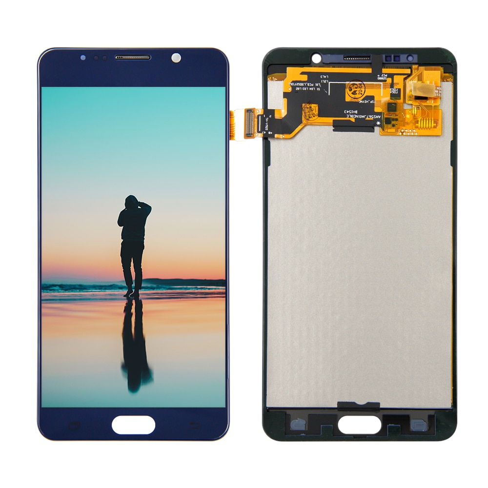Para Samsung Galaxy Note 5 Note5 N920A N9200 SM-N920 N920C LCD pantalla táctil digitalizador Asamblea