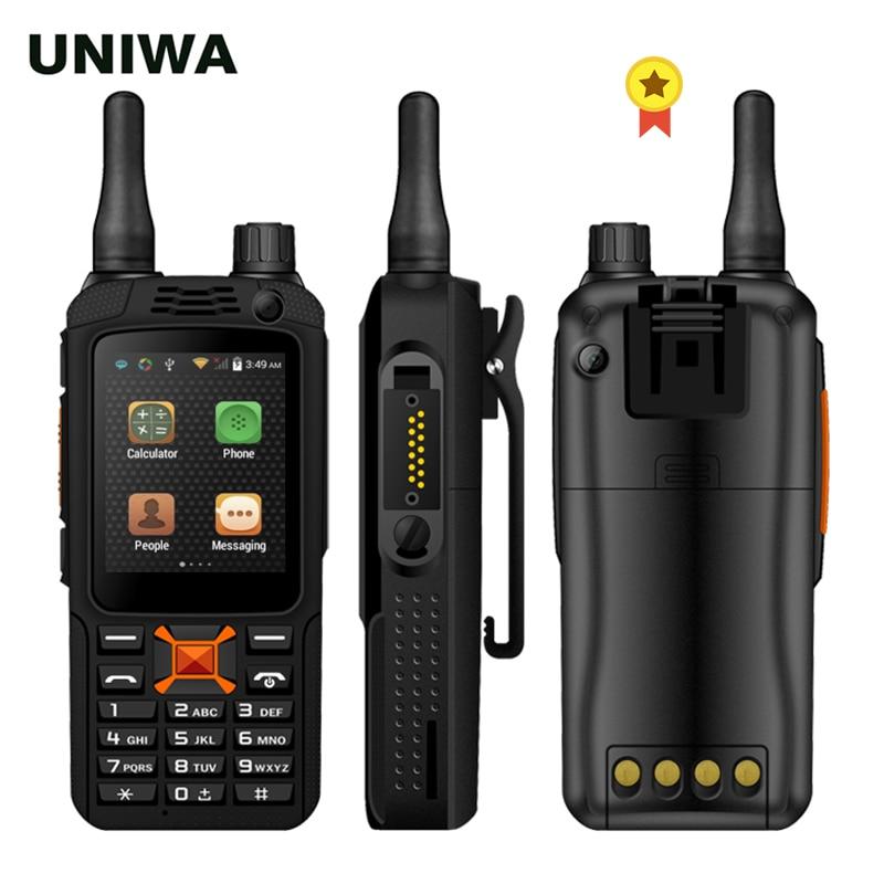 Telefone mtk6572w 3500 mah do walkie talkie dos alpes f22 + zello ptt battey 2.4 cellphone android tela de toque android 4.2 câmera dupla sim celular