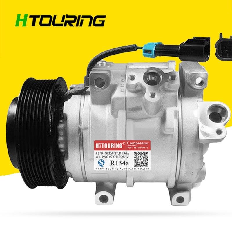 DENSO 10SRE18C AC aire para compresor de aire acondicionado para el coche de John Deere compresor de CA RE284680 DCP99520 8PK