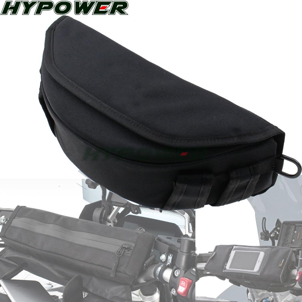 Bolso del manillar de la motocicleta bolso magnético del sillín de la bicicleta del tanque gran pantalla para el teléfono/GPS para BMW R NINE T R1200GS ADV R1200R LC R1250