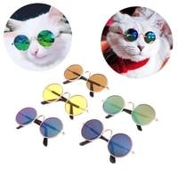 1pc lovely pet cat glasses dog glasses pet accessoires for little dog cat eye wear protection dog cat sunglasses photos
