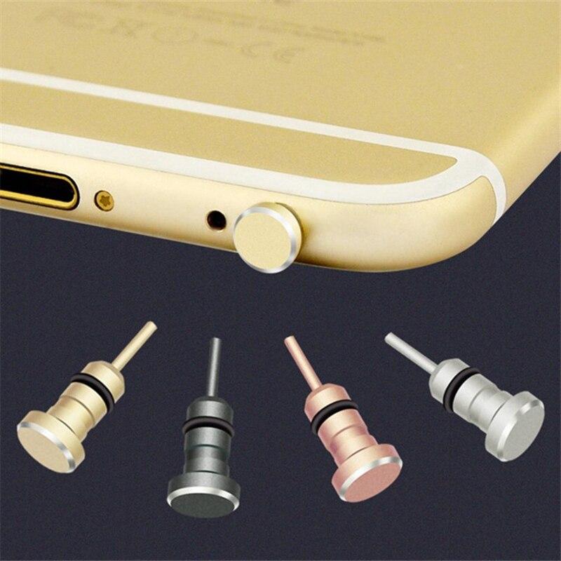 Тип C Пылезащитная заглушка для телефона Комплект USB портом Type-C и 3,5 мм разъем для наушников для Samsung Galaxy S8 S9 плюс для Huawei P10 P20 lite-2