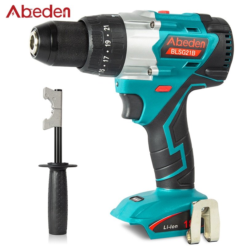 18V 1800rpm Cordless Screwdriver Electric Woodworking Drill Lithium-ion Battery for Makita 2 Speed Hand Driver Wrench Power Tool