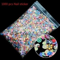1000pcs polymer clay flower crafts flatback scrapbooking for embellishments nail stickers art decoration diy accessories