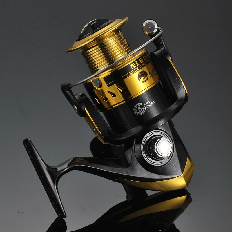 High Quality New NL1000-6000 Metal Wobbler Reel Lure Wheel Bait Casting Flying Spinning  Left / Right Hand Fishing Tackle 2020 enlarge