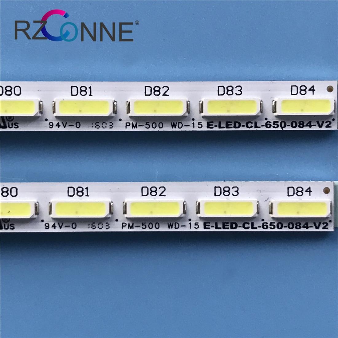 LED Backlight strip 84leds For Philips 65'' TV E-LED-CL-650-084-V2 10024611-a0 65pus6521/12 65PUS7101/12 TPT650UA-QVN04.U