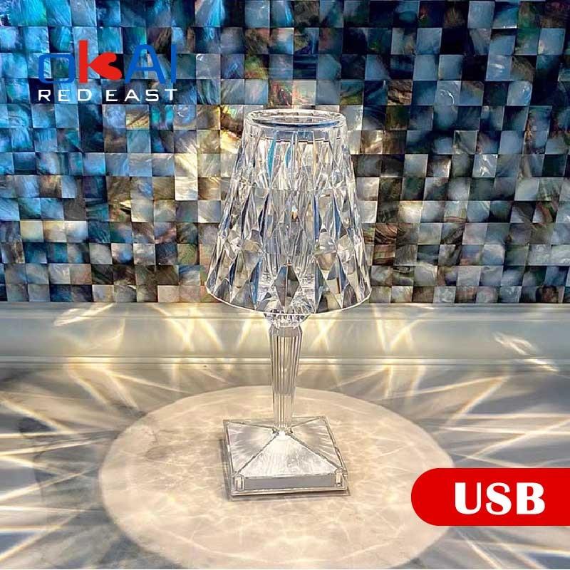 Фото - High-end Luxury Decorations Italian Design Crystal Lamp Table Lamp Reading Lamp Night Light Crystal Masonry Exclusive Design. italian interior design