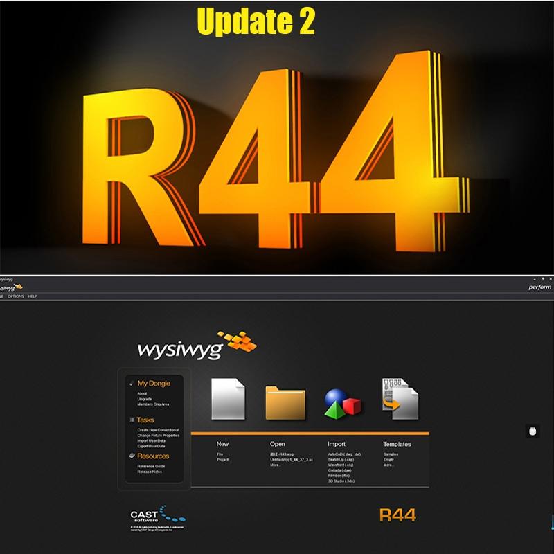 Wysiwyg R44 Perform Dongle Update2 Lighting Interface Software Disco DJ DMX Light Stage Light Effect