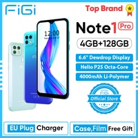 Смартфон FIGI Note 1 pro, 6,6 дюйма, 4 + 128 ГБ, 4000 мА ч, Android, 16 МП
