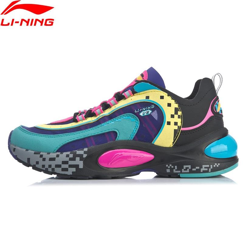 Li-Ning-حذاء رياضي نسائي V8 ، حذاء جري مبطن ، حذاء رياضي ، حذاء رياضي