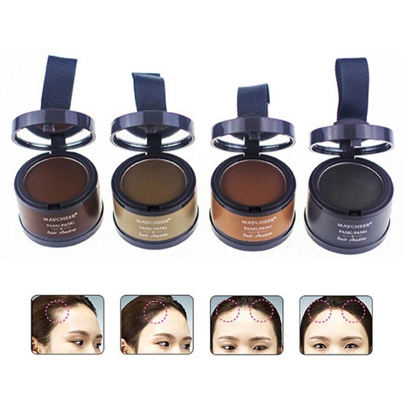 4 Color Hair Growth Powder Beauty Hair Fluffy Powder Waterproof Natural Hairline Shadow Powder Insta
