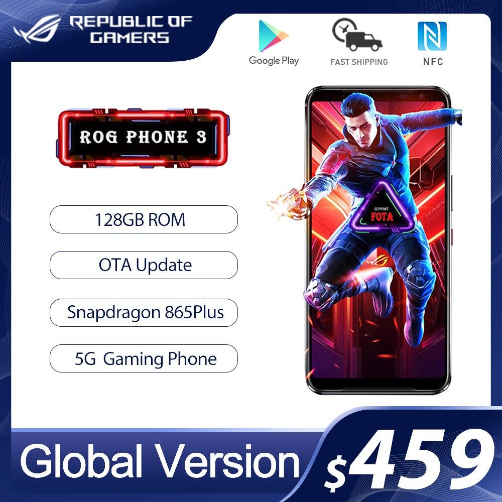 Оригинальный телефон ASUS ROG Phone 3 глобальная версия ZS661KS Snapdragon 865/865Plus 128