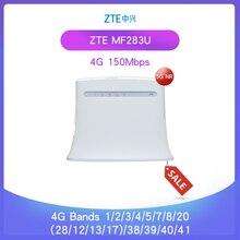 Débloqué ZTE MF283 MF283u 4g LTE 150Mbps routeur sans fil Wi-Fi routeur Hotspot passerelle sans fil global