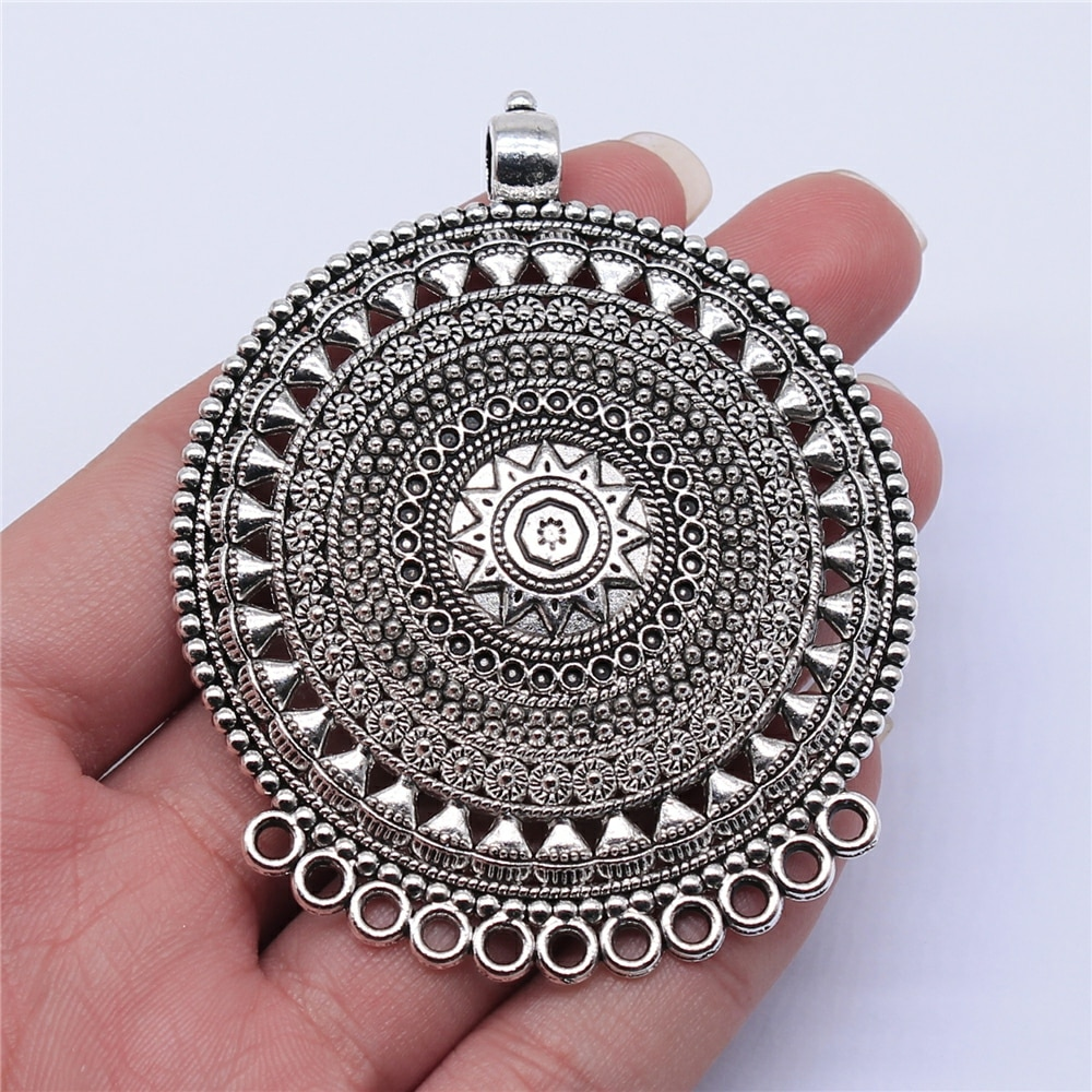 wysiwyg-1-шт-74x60-мм-старинное-серебро-Цвет-резной-круглой-ожерелье-соединитель-подвеска-Шарм-для-diy-ювелирных-изделий