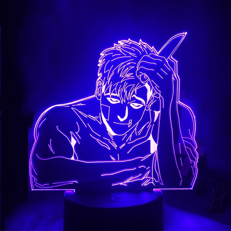 Acrylic 3d Lamp  Light for Bedroom Decor Led Night Light Anime Gift BL DropShipping