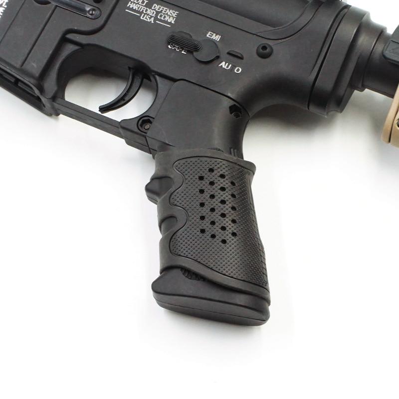Jinming 8th generation J9J10 exciting Kublai HK416 Sima M4 fine shot SLR grip sleeve water gun modified accessories