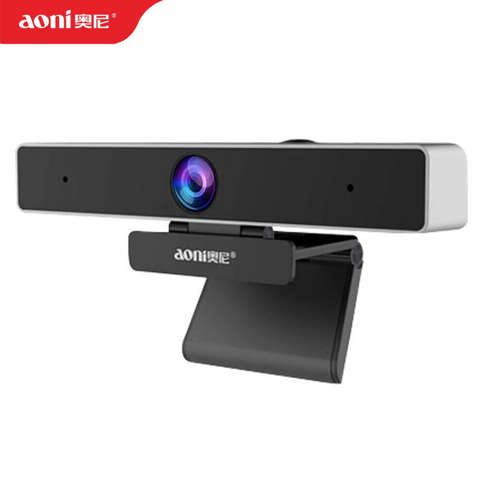Aoni C90-كاميرا بزاوية عريضة HD ، جهاز كمبيوتر تلفزيوني ، USB ، مؤتمرات فيديو ، شبكة ، مرساة تعليمية ، بث مباشر