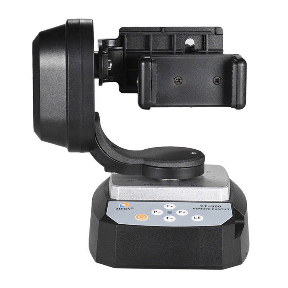 Soporte de cabeza de trípode giratorio de vídeo Pan Tilt de transmisión en vivo, soporte de Control remoto automático, Selfie motorizado para cámara Gopro Hero