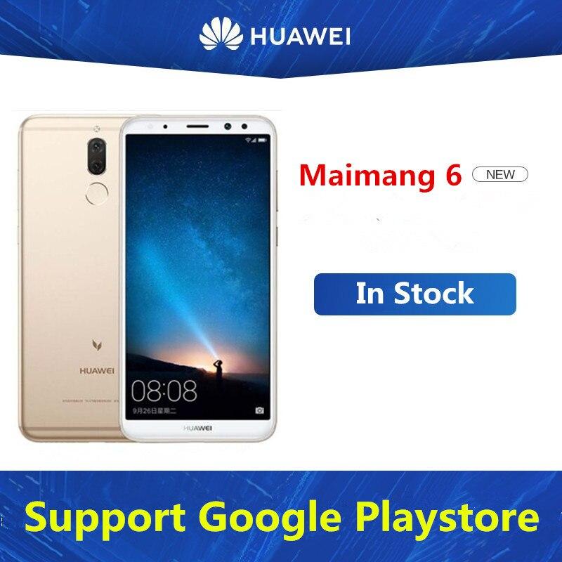 "Huawei maimang 6 mate 10 lite celular original, kirin 659 octa core, android 7.0, 5.9 "", 2160*1080 4gb ram 64gb rom câmera 4"