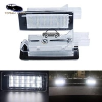 2x free error led rear number plate lamp for renault clio espace fluence laguna latitude grand modus zoe scenic car styling