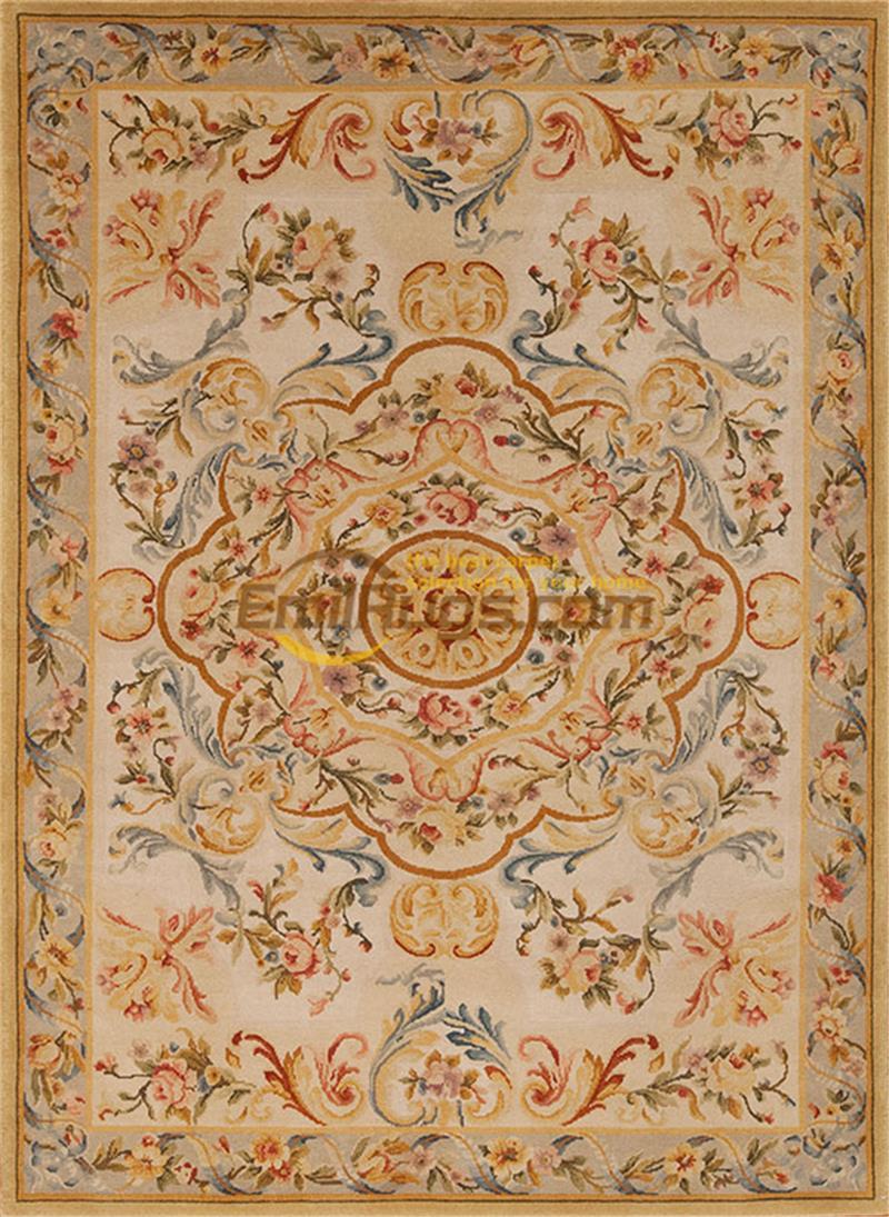 Francês royal tapetes feitos à mão do vintage savonnerie padrão de lã tapete grande estilo vintage nova listagem arte popular